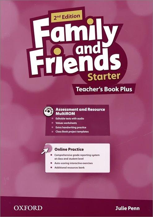"Купить книгу ""Family and Friends. Starter. Teacher's Book Plus"""