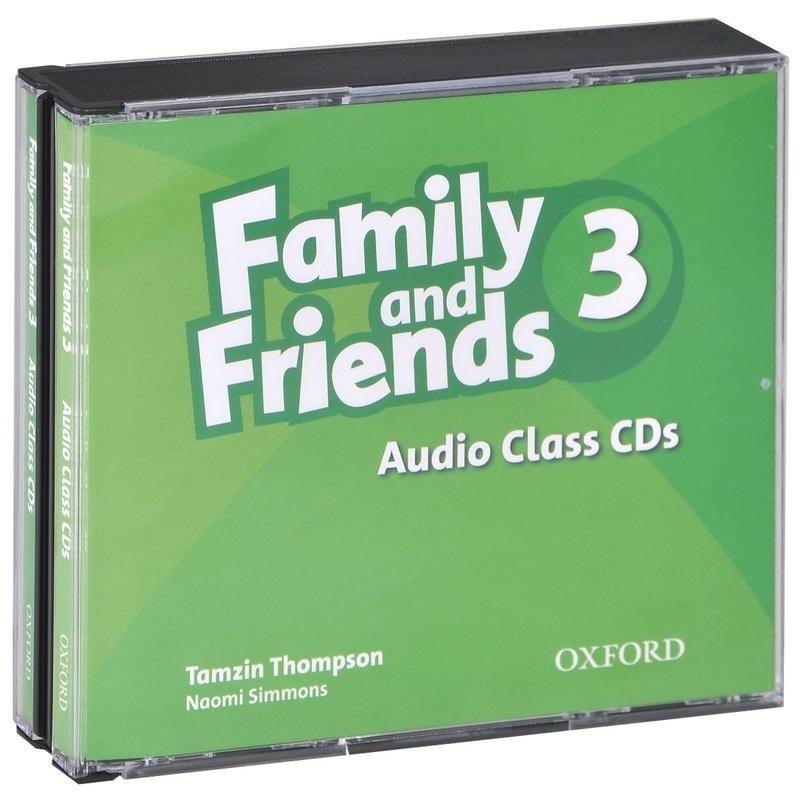 """Купить книгу """"Family and Friends 3: Audio Class (аудиокурс на 3 CD)"""""""