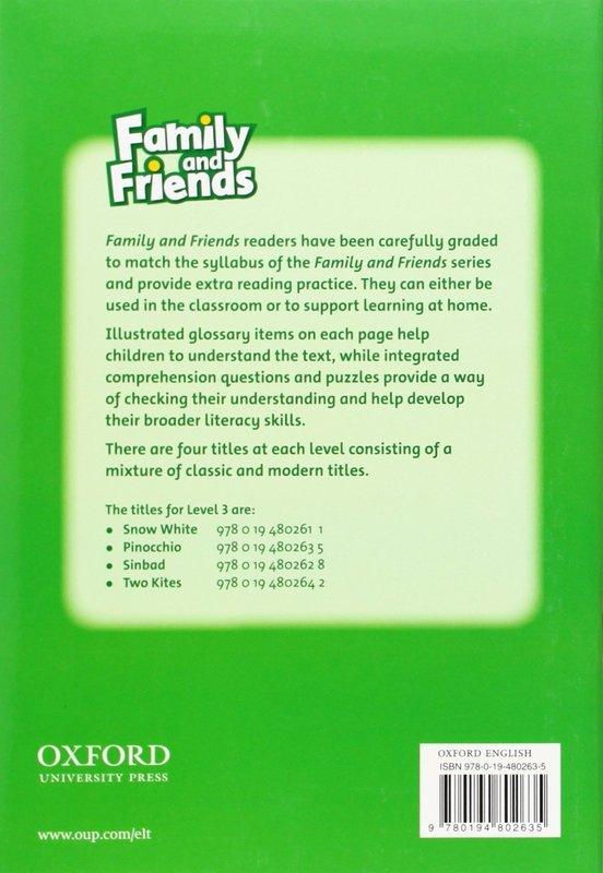 "Купить книгу ""Family and Friends. Readers 3. Pinocchio"""