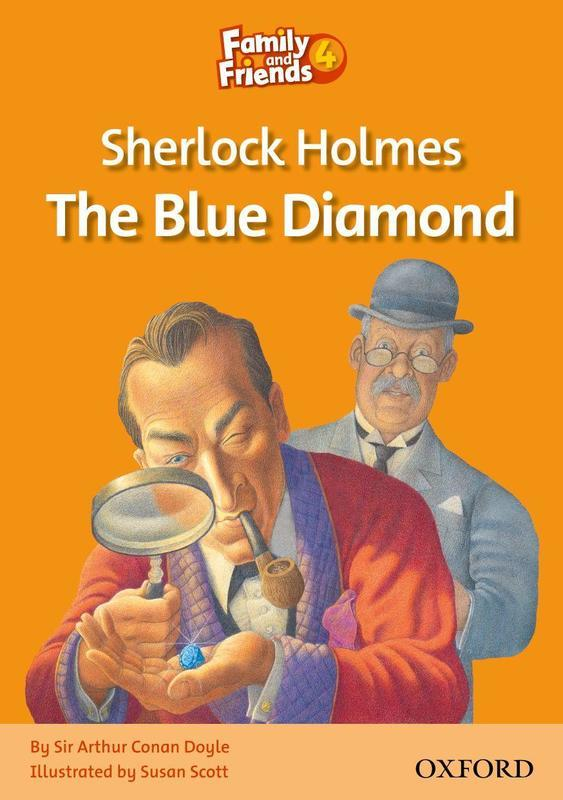 "Купить книгу ""Family and Friends. Readers 4. Sherlock Holmes and the Blue Diamond"""