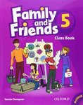Family and Friends. 5. Class Book and MultiROM Pack