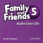 Family and Friends 5: Audio Class (аудиокурс на 2 CD)