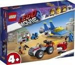 Конструктор LEGO Мастерская «Строим и чиним» Эммета и Бенни! (70821)
