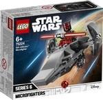 Конструктор LEGO Микрофайтеры: Корабль-лазутчик ситхов (75224)