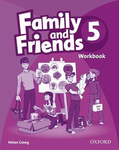 "Купить книгу ""Family and Friends. 5. Workbook"""