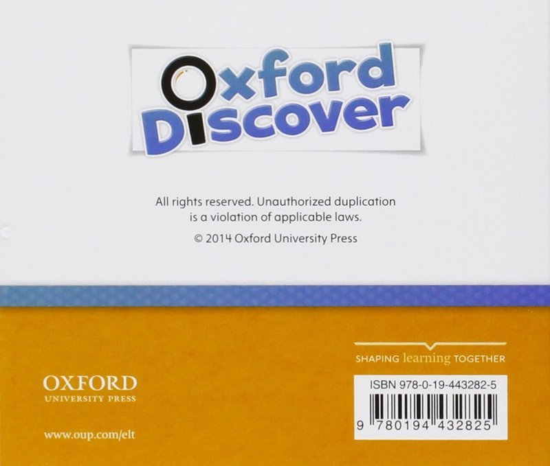 "Купить книгу ""Oxford Discover. 2. Grammar Class. Audio CD (аудиокурс CD)"""