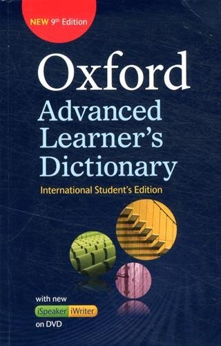 "Купить книгу ""Oxford Advanced Learner's Dictionary. International Student's edition with DVD-ROM"""