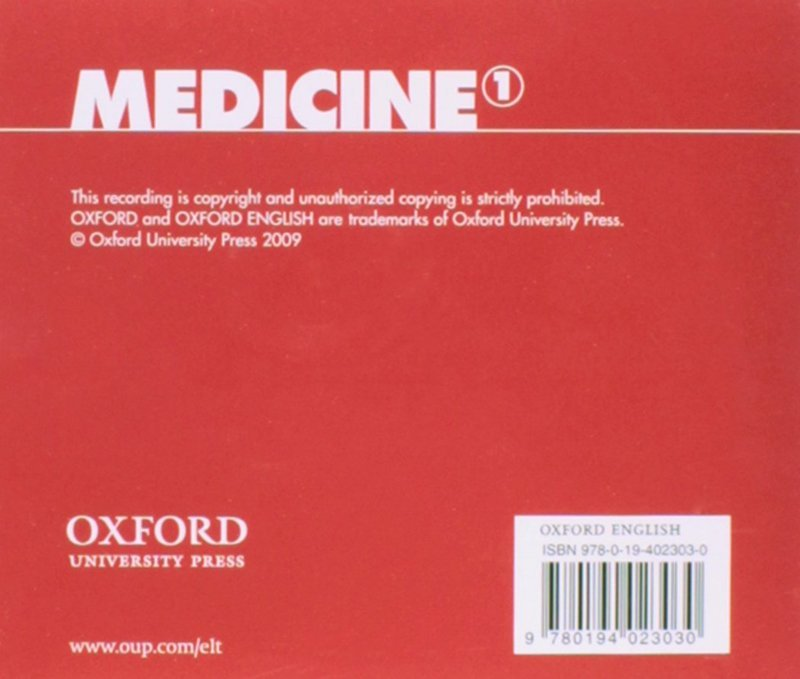 "Купить книгу ""Oxford English for Careers. Medicine 1. Class CD"""