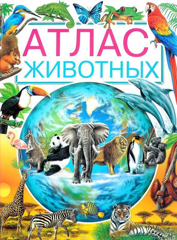 """Купить книгу """"Атлас животных"""""""