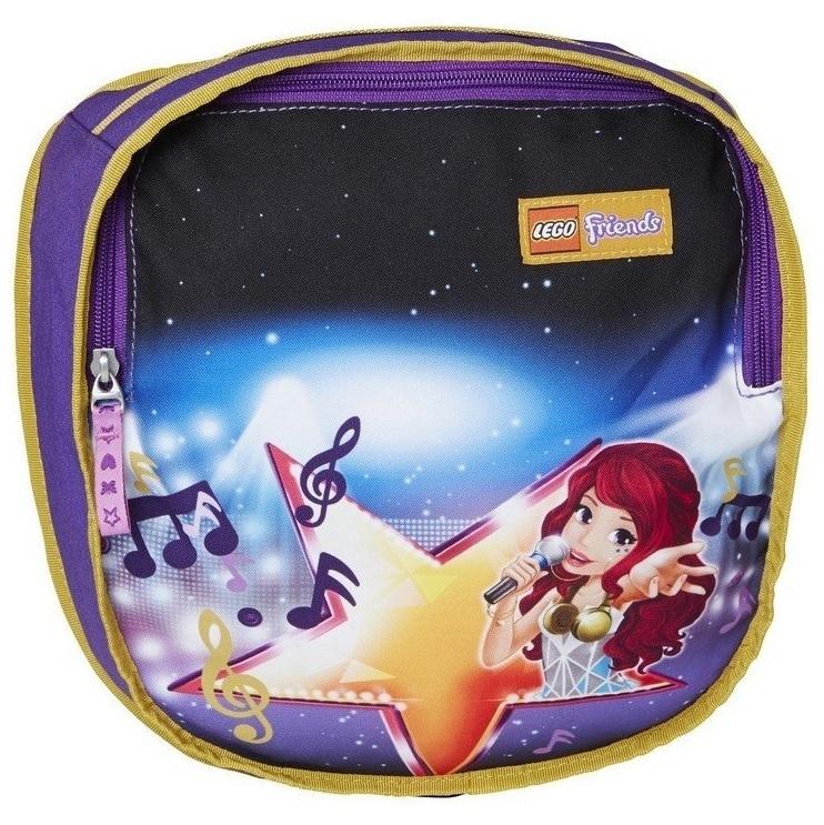"""Купить """"Ранец школьный Smartlife LEGO Friends Поп-звезда с сумкой для обуви 33л (20009-1705)"""""""