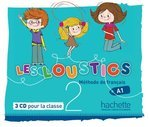 Les Loustics 2. 3 CD Audio Classe