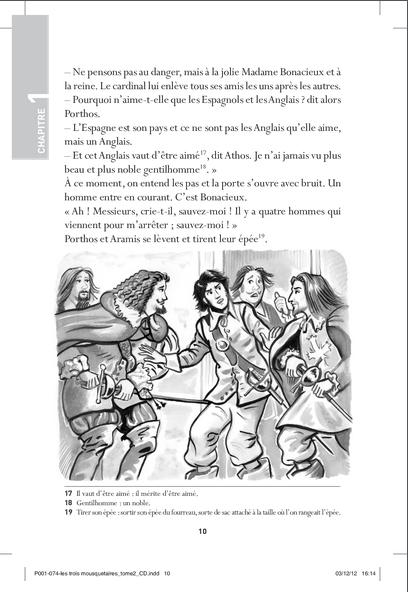 """Купить книгу """"Les Trois Mousquetaires. Tome 2: Au service de la reine. Avec CD audio"""""""