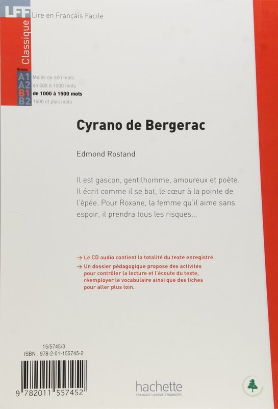 "Купить книгу ""Cyrano de Bergerac. Avec CD audio"""