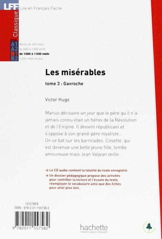 "Купить книгу ""Les Miserables tome 3 Gavroche (+CD audio MP3)"""