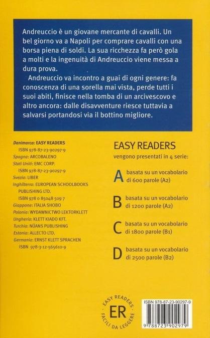 """Купить книгу """"Andreuccio da Perugia"""""""