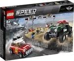 Конструктор LEGO Автомобили 1967 Mini Cooper S Rally и 2018 MINI John Cooper Works Buggy (75894)