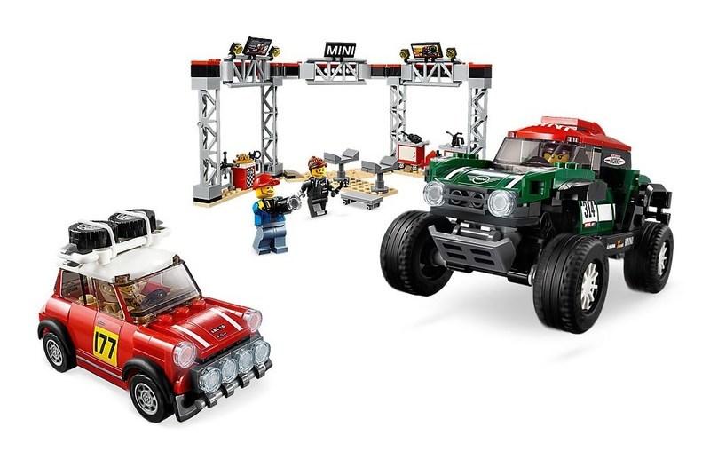 "Купить ""Конструктор LEGO Автомобили 1967 Mini Cooper S Rally и 2018 MINI John Cooper Works Buggy (75894)"""