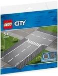 Конструктор LEGO Прямой и Т-образный перекрёсток (60236)