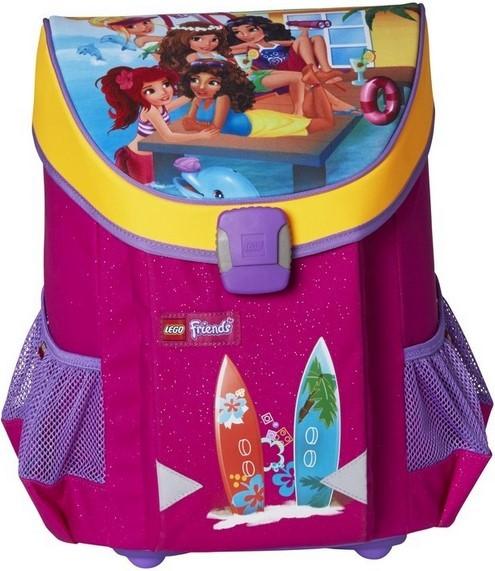"""Купить """"Ранец школьный Smartlife LEGO Friends Домик на пляже (16273)"""""""