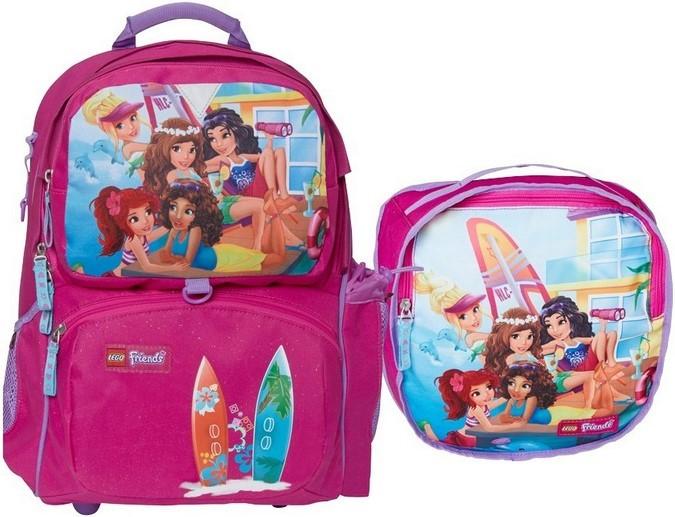 """Купить """"Ранец школьный Smartlife LEGO Friends Домик на пляже с сумкой для обуви (16283)"""""""
