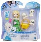 Игровой набор Disney Frozen Hasbro. Маленькое королевство. Эльза и снеговики (B9875 / B5185)