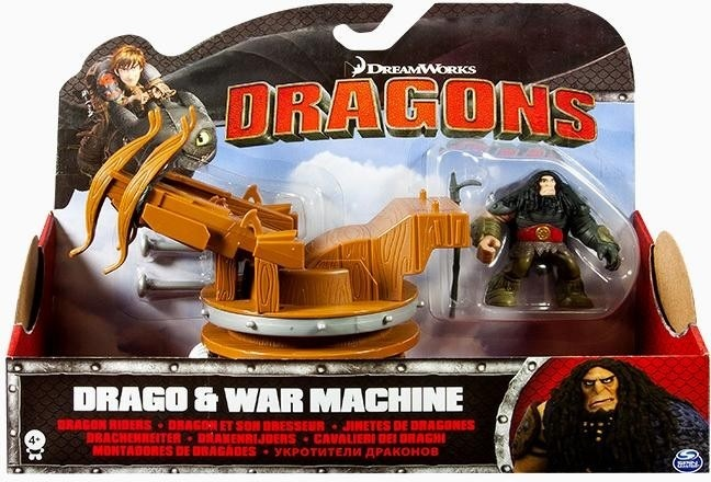 """Купить """"Игровой набор Spin Master Dragons Как приручить дракона Драго и боевая машина (SM66594-5)"""""""