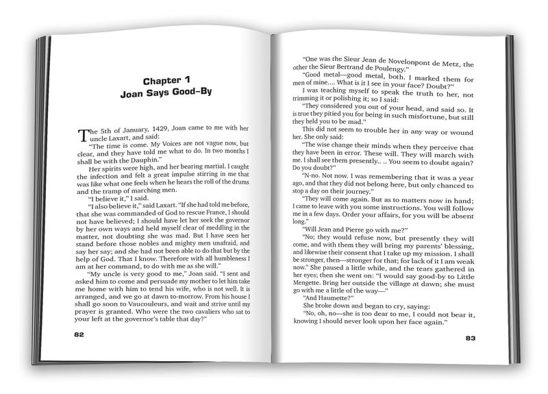 "Купить книгу ""Personal Recollections of Joan of Arc"""