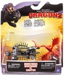 Игровой набор Spin Master Dragons. Как приручить дракона. Кривоклык и боевая машина (SM66561-4)