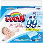 Влажные салфетки Goo.N для чувствительной кожи, 3 блока по 70 шт. (733777) - купить онлайн