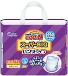 Подгузники-трусики Goo.N для детей, 15-35 кг, 14 шт. (753859)