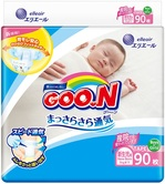 Подгузники Goo.N для новорожденных, до 5 кг, 90 шт. (843152) - купить онлайн