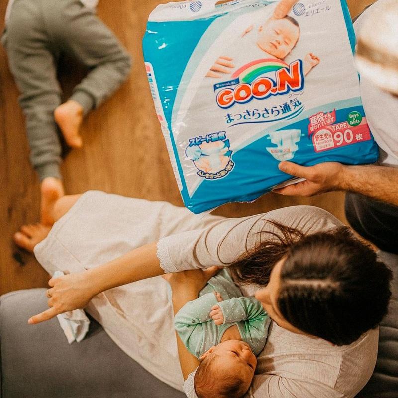 """Купить """"Підгузки Goo.N для немовлят, до 5 кг, 90 шт. (843152)"""""""