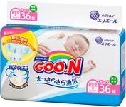 """Купить """"Підгузки Goo.N для немовлят, до 5 кг, 36 шт. (853888)"""""""