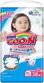 Подгузники-трусики Goo.N для девочек, 12-20 кг, 38 шт. (843099) - купить онлайн