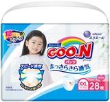 Подгузники-трусики Goo.N для девочек, 13-25 кг, 28 шт. (843101) - купить онлайн