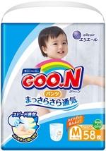 Подгузники-трусики Goo.N для детей, 6-12 кг, 58 шт. (843095) - купить онлайн