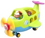 Игровой набор Kiddieland Самолет-путешественник (056895)