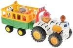 Игровой набор Kiddieland Трактор Сафари (051169)