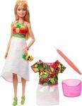 Кукла Barbie Crayola Фруктовый сюрприз (GBK18) - купити онлайн
