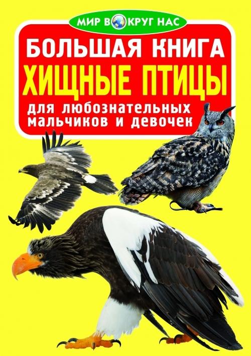 """Купить книгу """"Большая книга. Хищные птицы"""""""