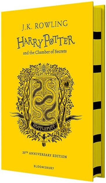 "Купить книгу ""Harry Potter and the Chamber of Secrets – Hufflepuff Edition"""
