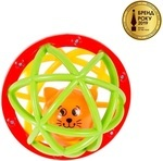 Погремушка-шарик Kiddieland Шустрый Котенок (049858) - купити онлайн