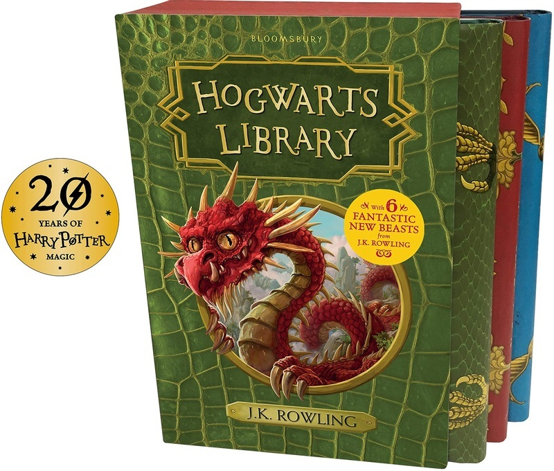 "Купить книгу ""The Hogwarts Library Box Set"""