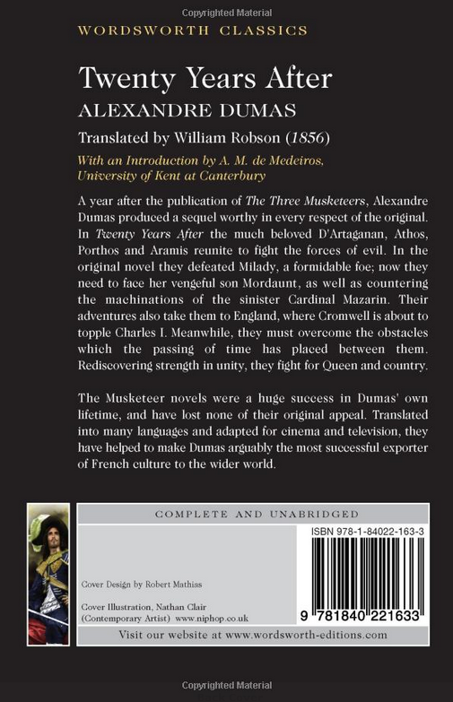 "Купить книгу ""Twenty Years After"""