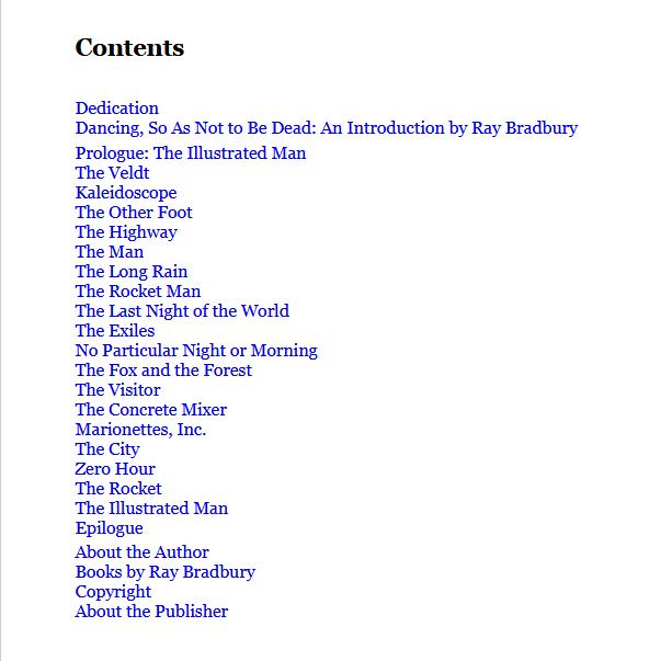 "Купить книгу ""The Illustrated Man"""