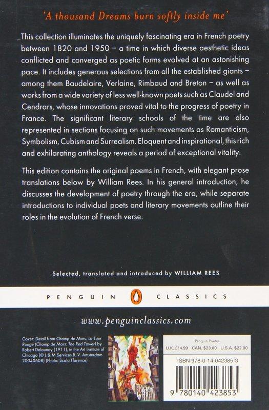 """Купить книгу """"The Penguin Book of French Poetry"""""""