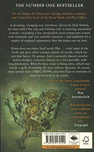 """Купить книгу """"Raising Steam (Book 40)"""""""