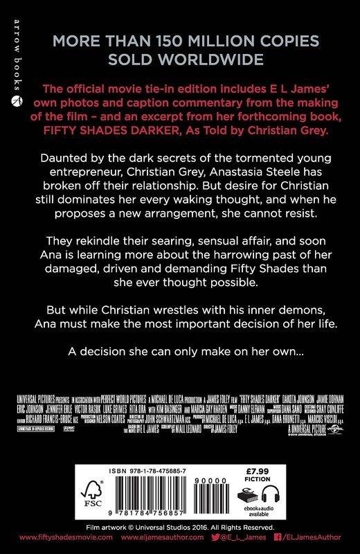 """Купить книгу """"Fifty Shades Darker (Book 2) (Movie Tie-in)"""""""