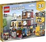 Конструктор LEGO Зоомагазин и кафе в центре города (31097)