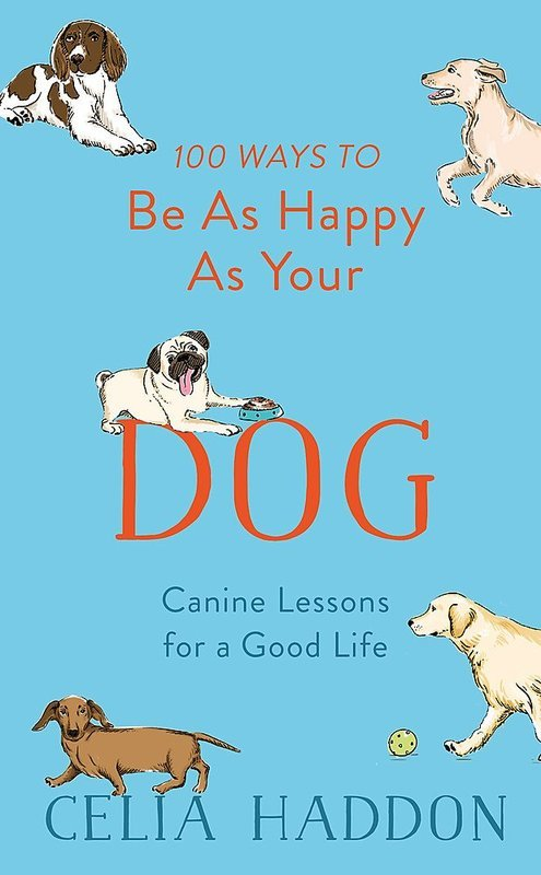 "Купить книгу ""100 Ways to Be As Happy As Your Dog"""
